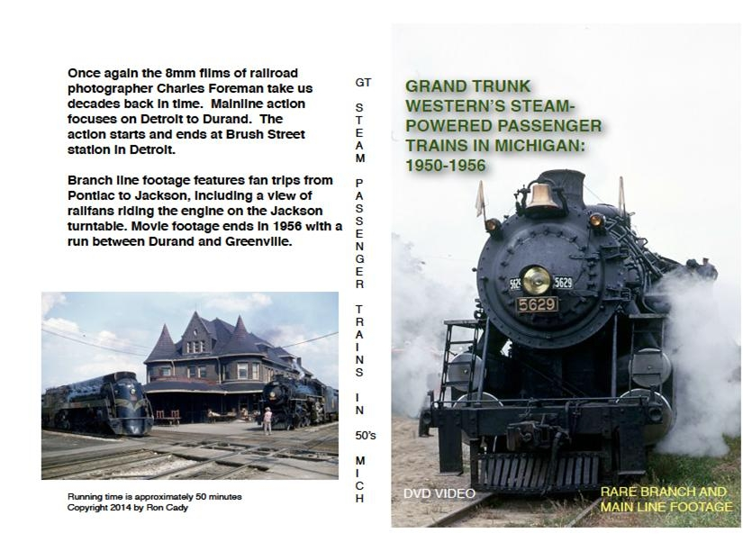 DVD - Grand Trunk Western's Steam Powered